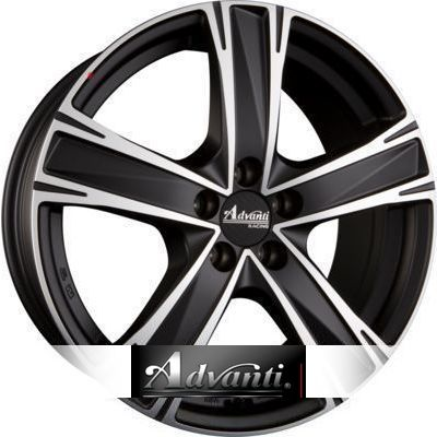 Advanti Racing Raccoon 7.5x17 ET38 5x114.3 72.6